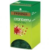Twinings Cranberry Green Tea F08815 Pk20