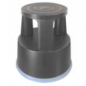 Q-Connect Plastic Step Stool Dark Grey