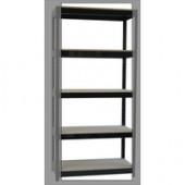 FF Storsol 2 Shelf Larch File Unit Blk