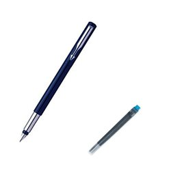 Parker Vector Blue Fountain Pen Pk6