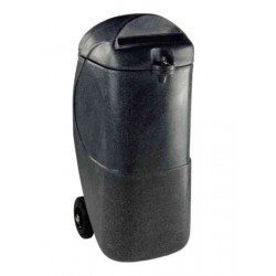 Mobile Confidential Waste Bin/Lock 90Ltr