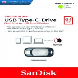 Sandisk Ultra 64GB Flash Drive Type C