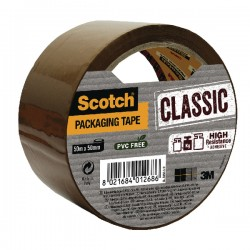 Scotch Brown 50mmx50m Packaging Tape
