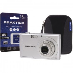 Praktica Luxmedia Z250 Camera/16gb card