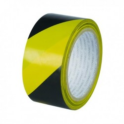 Q-Connect Hazard Tape 48mmx20M Yel/Blk