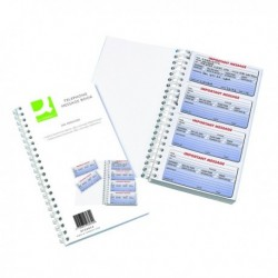 Q-Connect 200 Msg Telephone Message Book