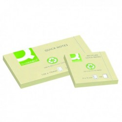 Q-Connect Quick Notes Recycled 76x76mm