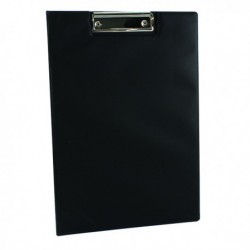 Q-Connect PVC Fold Clipboard Fs Blk