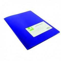 Q-Connect Display Book 10 Pocket Blue