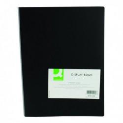 Q-Connect Display Book 40 Pocket Black