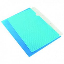 Q-Connect Cut Flush Folder A4 Blue Pk100
