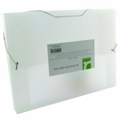 Q-Connect Elastic 25mm Folder A4 Clear