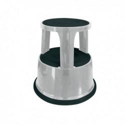 Q-Connect Light Grey Metal Step Stool