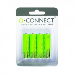 Q-Connect AA Batteries - Pk4