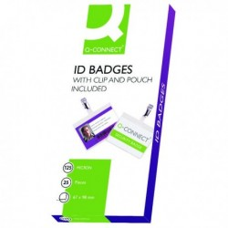 Q-Connect Hot Laminating ID Badge Clip