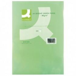 Q-Connect A4 Br/Green Colour Paper Ream