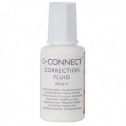 Q-Connect Correction Fluid 20ml Pk10