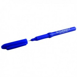 Q-Connect 0.4mm Blue Fineliner Pen Pk10