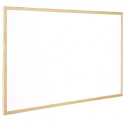 Q-Connect 900x600mm Whiteboard Wood F