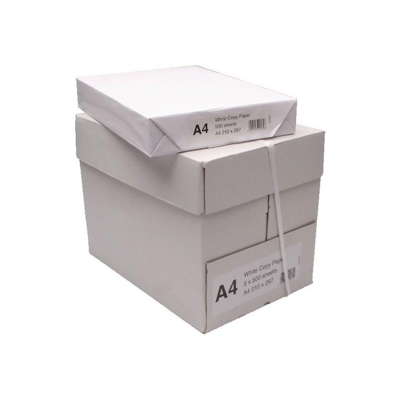 24H 1 BOX 2500 SHEETS A4 COPIER LASER /& INKJET WHITE PRINTER PAPER 80gsm