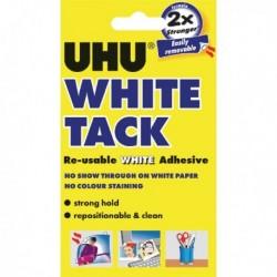 UHU White Tack Handy Pack 62g Pk12