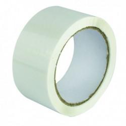 White Poly Tape 50mmx66m Pk6