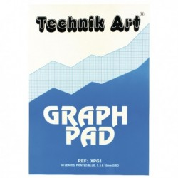 Technik Art Graph A4 Pad 40 Leaf XPG1