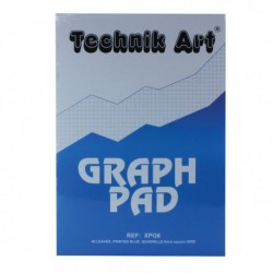 Technik Art Graph A4 Pad 40 Leaf XPG6