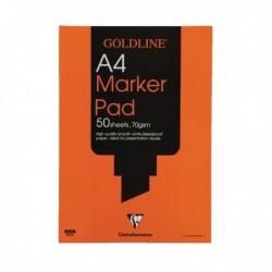 Goldline Marker A4 Pad GPB1A4