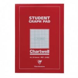 Chartwell Graph A4 Pad 2 10 20mm J34B