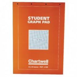 Chartwell Graph A3 Pad 30 Leaf J13B