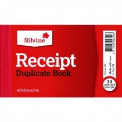 Silvine Duplicate Receipt Book 228 Pk36