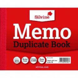 Silvine Duplicate Memo Book 603 Pk12