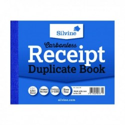 Silvine Duplicate Recept Book 720-T Pk12