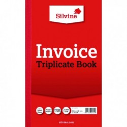 Silvine Triplicate Invoice Book 619 Pk6