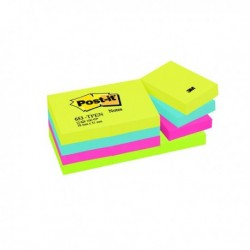 Post-it 38x51mm Energy Notes Pk12 653TF