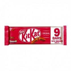 Nestle KitKat Milk Two Finger Pk9