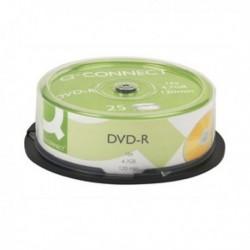 Q-Connect DVD-R 4.7GB Cake Box Pk25