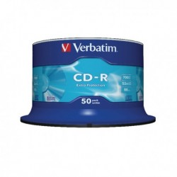 Verbatim CD-R 700MB/80m 52X Spndle 43351
