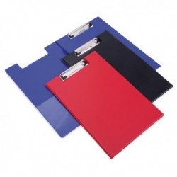 Rapesco Foldover Clipboard Fs Red