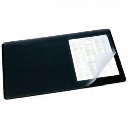 Durable Clear/Black 400x530mm Desk Mat