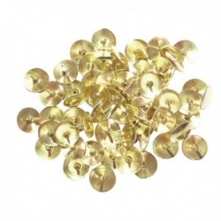 Brass Drawing Pins 9.5mm Pk1000