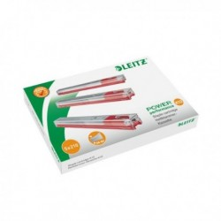 Leitz 12mm Red Staple Cartridge Pk5