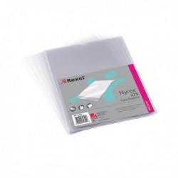 Rexel Card Holder Open Top A4 Clear Pk25