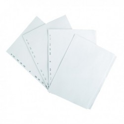 Elba 5-Part Divider 160gsm A4 White