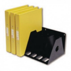 Rotadex Black 7-Pt A4 Ring Binder Rack