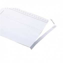 Rexel Crystalfile Card Inserts Wht P50