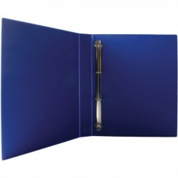 Blue 25mm Pres 4D-Ring Binder Pk10