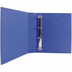 Blue 40mm Pres 4D-Ring Binder Pk10