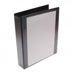 Black 40mm Pres 4D-Ring Binder Pk10